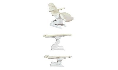 4 Motor Electric Facial Bed (white only)