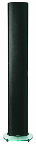 Energy 250 Watt Floor Standing / Wall Mountable 3-Way Bass Reflex Speaker in Black