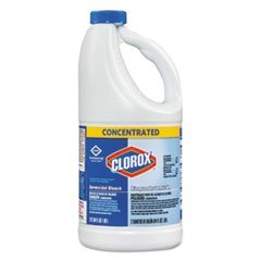 Clorox Concentrated Bleach, Regular, 64 Ounce Bottle by Clorox