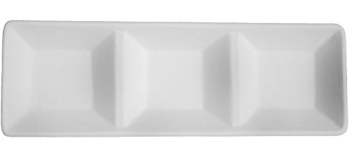 3 Section Serving Dish - Fusible Glass Slumping Mold - Glass 3 Mold