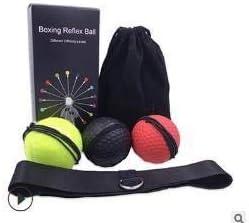 Vaskey Head Mounted Boxing Fitness Ball Reaction Training Ball