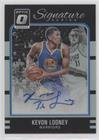 Kevon Looney (Basketball Card) 2016-17 Panini Donruss Optic - Signature Series - Holo #13