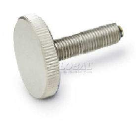 #6-32 Knurled Head Thumb Nut 18-8 Stainless Steel Nuts USA Made 3//8 Dia x 1//4 THK - Qty-2,500