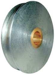 Industrial Grade 5RTE8 Sheave, Wire Rope, Max Cbl 3/8 in, 1700 lb