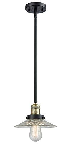1 Light Halophane 10 inch Mini Pendant ()