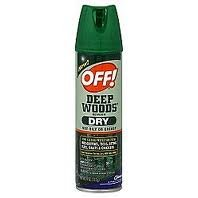 Off Deep Woods Dry Aerosol 4 Oz, pack of (Deep Woods Aerosol)