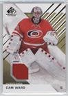 Cam Ward (Hockey Card) 2016-17 Upper Deck SP Game Used - [Base] - Gold Material [Memorabilia] #68