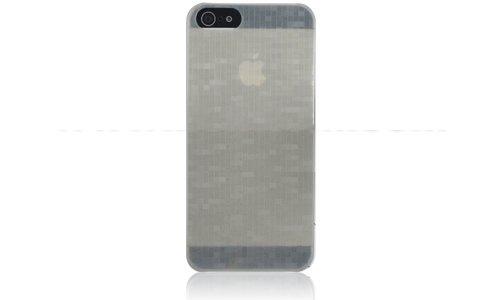 Ultra Slim Case für Apple iPhone 5G 5 Tasche Etui Hard Schutz Hülle Gra #MSK