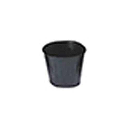 【15000個】 10.5cm 黒 TO浅鉢安定型ポット(UAタイプ) ポリポット 東海化成 タ種 代不 B06Y57QD5T