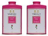 Yardley English Rose by Yardley of London for Women Perfumed Talc, 7 Ounce (14 (Lavender Perfumed Soap)