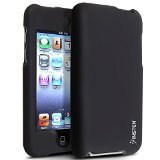 Touch 3g Silicone (Insten Snap-On Rubber Coated Case for iPod touch 2G/3G (Black))