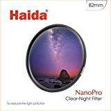 Haida 82mm Clear-Night Filter NanoPro MC Light Pollution Reduction for Sky / Star 82 by Haida