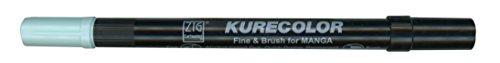 Zig Kurecolor Manga Cartoonist Fine & Brush Dual-Tip Marker Pale Aqua ()