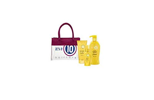 It's a 10 Haircare Summer Blonde Bag W/Free T-Shirt - Shampoo, Hair Repair & Leave In by It's a 10