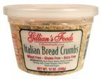 Gillians Food Italian Bread Crumb, 12 Ounce - 12 per case.