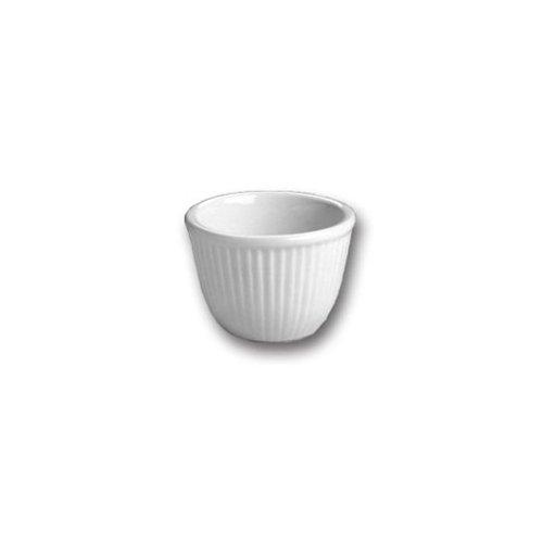 Hall China 850-WH White 6 Oz. Custard / Dessert Cup - 24 / CS