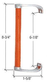 CRL Wood/Gray Inside Pull 6-5/8