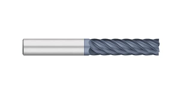 AlTiN Coated 1//2 Cutting Diameter Titan TC61067 Solid Carbide Terminator End Mill 2 Length of Cut 1//2 Cutting Diameter 4 Overall Length 2 Length of Cut Titan USA 4 Overall Length Long Length 40 degree Angle Helix 6 Flute Square End