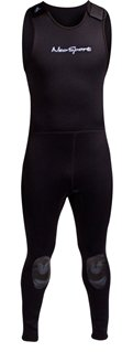 NeoSport Wetsuits Men's Premium Neoprene 7mm John, Black, Large - Diving, Snorkeling & Wakeboarding by Neo-Sport