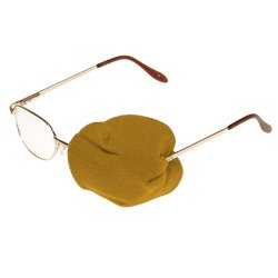 Review Beige Eyeglass Patch (1
