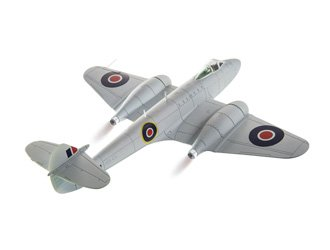 Corgi Boys Gloster Meteor F3 YQ-Q 616 Squadron 1:72 Aviation Archive Diecast Replica AA27402 Vehicle -  Corghi USA, CG27402