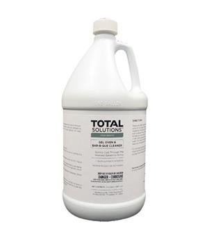 Total Solutions Gel Oven & Bar-b-que Cleaner- 4 Gallon Case by Total Solutions (Cleaner Gallon 4 Case)