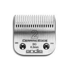 Detachable Blade Clipper - Andis Ceramic Edge Blade Size 2