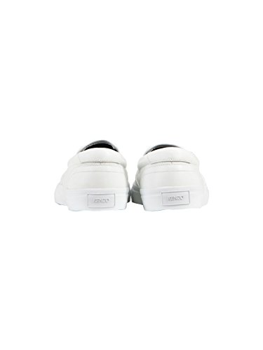 Kenzo Herren F765sn100l7001 Weiss Stoff Slip On Sneakers