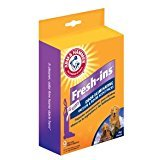 (Arm and Hammer Fresh ins 9 Packs for your vacuum bags. Make your Home Smell Fresh)