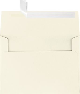 A7 Invitation Envelopes w/Peel & Press (5 1/4 x 7 1/4) - Natural - 100% Recycled (50 Qty) | Perfect for Invitations, Announcements, Sending Cards, 5x7 Photos | Printable | 80lb Paper | 4880-NPC-50