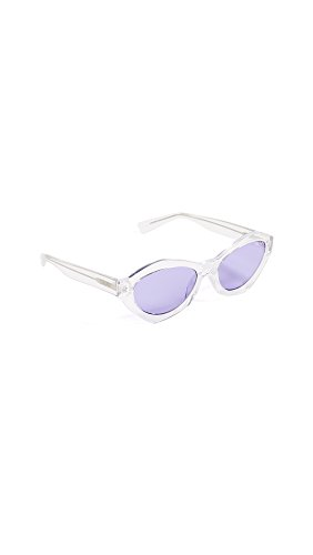 Quay Women's x KYLIE As If Sunglasses, Clear/Purple, One - For Shop Sunglasses