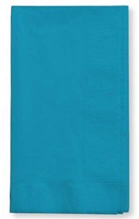 (100 Turquoise Dinner Napkins for Wedding, Party, Bridal or Baby Shower, Disposable Bulk Supply Quality Product (Turquoise))