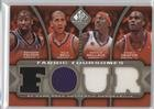 Raymond Felton; Raja Bell; Gerald Wallace; Emeka Okafor #90/125 (Basketball Card) 2009-10 SP Game Used - Fabric Foursomes - Level 1 #F4-WBOF (Wallace Bell 2009)