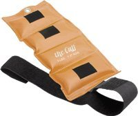WRIST AND ANKLE WEIGHT CUFF, 3 LBS