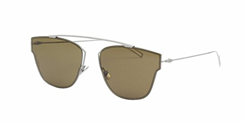 Christian Dior - DIOR 0204S, Geometric, metal, men, MATTE BEIGE WHITE/BROWN(TDA/A6), - Dior White Sunglasses