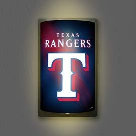 Texas Rangers Neon Sign - Texas Rangers MotiGlow Light Up Sign