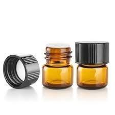 Coolrunner 1 ml (1/4 dram) Amber Glass V - Small Oil Bottle Shopping Results