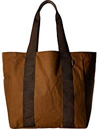 Filson Unisex Medium Grab N Go Tote Dark Tan/Brown One Size