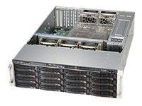 Supermicro CSE-836BE1C-R1K23B NR]BLACK 3U SC836 CSE W/SINGLE SAS3 EXPANDER REDUND.