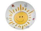 Niermann Standby Ceiling Lamp Plastic, Sunny