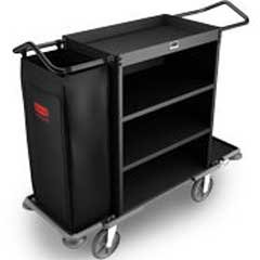 Rubbermaid® Commercial Cruise Housekeeping Cart RCP 9T59 BLA