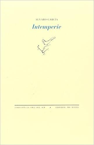 Descarga gratuita de libros electrónicos pdb Intemperie (La cruz del sur) 8481910635 in Spanish RTF