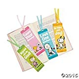 Peanuts Bookmarks Spring Inspirational (One Dozen)
