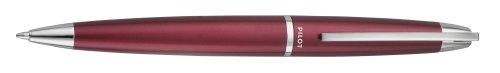 Pilot Knight Collection Ball Point Pen, Burgundy Barrel, Black Ink, Medium Point (65202)