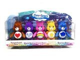Care Bears, Figurine Set [Tenderheart, Share, Cheer, Funshine, and Grumpy Bear], 5-Pack, 3 Inches (Figurines Bears Care)