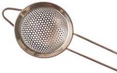 Colador de Malla de Acero Inoxidable colador de perforaci/ón de Borde Ancho Olla Caliente Cuchara de Aceite de Pesca Filtro de Leche de Soja Suministros de Cocina