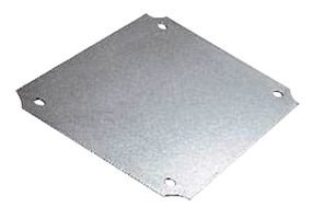 """BUD Industries NBX-32916-PL ABS Plastic Internal Panel, 10-1/2"""" Length x 6-11/16"""" Width x 1/8"""" Thick, for NBF Series Boxes"""