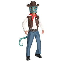 Tails Doll Halloween Costume (Rango Cowboy Costume - Small)