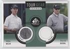 Mike Weir; David Duval (Trading Card) 2014 SP Game Used Edition - Tour Gear Combos - Shirt #TG2WD