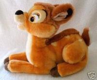Disney Store Exclusive 13'' Long Bambi Plush